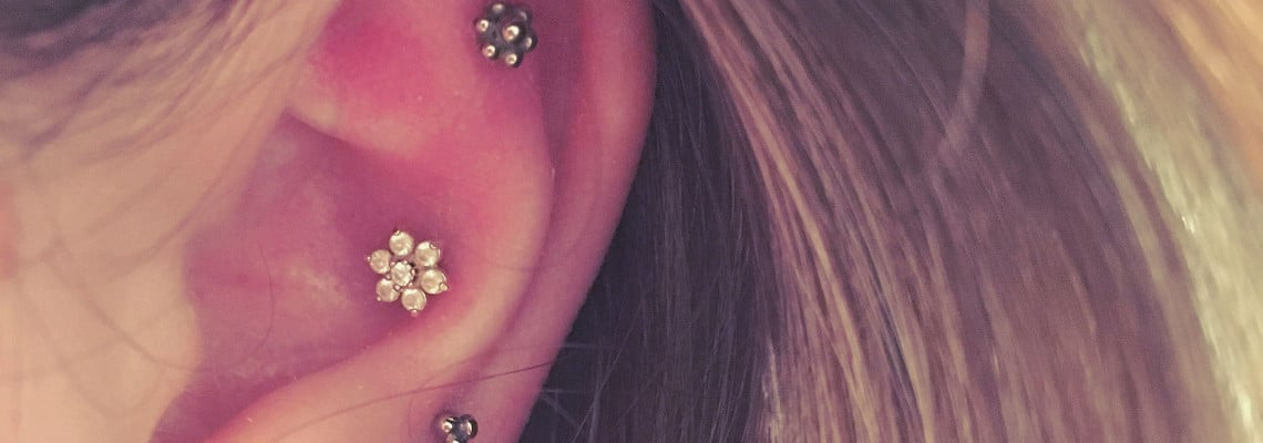 21 Inner Outer Conch Piercing Inspirational Examples